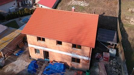 vazníky střecha K.H., Želenice